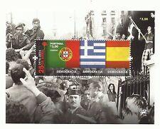 Portugal 2014 - 40th Anniversary of 25 April Revolution S/S MNH