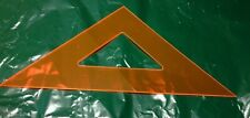 """ArtTec 1031F-16"""" Drafting Triangle for 45 & 90 Degrees"""