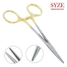 """SYZE Mosquito Hemostat Locking Forceps Pliers Straight 4.75"""" Surgical Dental TC"""