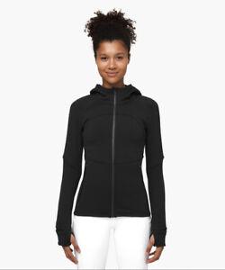 lululemon fleece flurry Jacket Black 6 $168 SOLD OUT