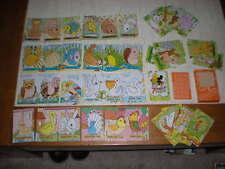 JEU 7 FAMILLES PUZZLE  BOITE  CARTES A JOUER HERON CREDIT AGRICOLE LOIRET