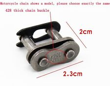 DID Link 428H Repair Clip Split Spring Link For Motorcycle patch up Chain bicycl