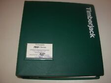 Timberjack 1710B Forwarder Operator & Maintenance Manual , French Edition