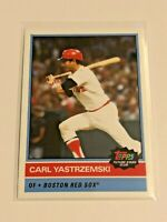 2020 Topps Future Stars Club Baseball August #4 - Carl Yastrzemski - Red Sox