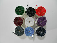 1 Yard 14 count white Aida Band sewn edging, 2 inches wide, many colors!