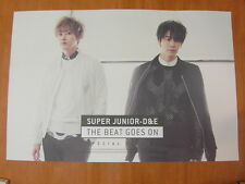 SUPER JUNIOR D&E THE BEAT GOES ON SPECIAL [OFFICIAL] POSTER DONGHAE&EUNHYUK