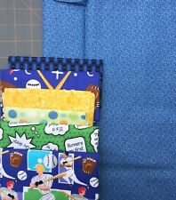 Yellow Brick Road QUILT KIT w/Blue & Baseball CRIB SIZE