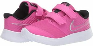 Nike Girls Non-Tie  Sneakers  Pink Glow/Photo Dust  Little Girls Size 8