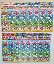12 x Sealife Stickers Sheets- Party Bag Fillers Wedding/Kids/piñata/Toy/birthday