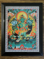 Feng Shui Green Tara Mantra Overcome All The Obstacles Plaque.