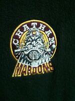 Player worn  Chatham Maroons team fleece jacket GOJHL OHA