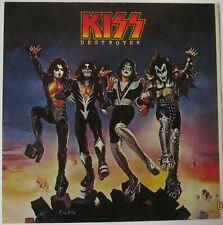 "ORIGINAL KISS DESTROYER PROMO ALBUM COVER FROM 1977 12"" X 12"""