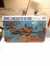 Vintage 1975 Tamiya 1/48 Avro Lancaster Model Kit Plus Extras!