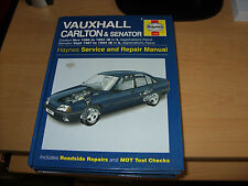 Vauxhall Carlton & Senator 1986 - 1994  Haynes Manual Inc 1.8 2.0 2.5 2.6 3.0
