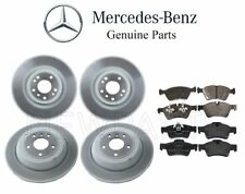 For Mercedes W164 ML-Class W251 Front & Rear Brake Disc Rotors w/ Pads Kit OES