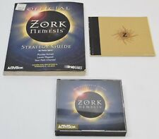 Zork Nemesis PC, 1996 CD ROM Strategy Guide Vintage Retro Computer Game