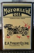 MOTORLUBE OIL CAN LABEL Sticker Decal ART DECO Service Station FORD MODEL A