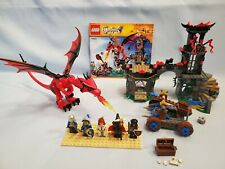 LEGO Castle #70403 Dragon Mountain - Complete, Instructions, Princess, Wizard