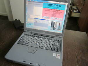 Toshiba Satellite Pro Win98 SE Pentium III Laptop Diskette CD Games Lotus 1-2-3