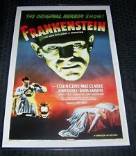 Frankenstein Boris Karloff Horror 11X17 Movie Poster Universal Classic
