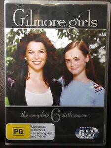 GILMORE GIRLS: Complete SEASON 6 (DVD, 6-Disc Set, Region 4) L1