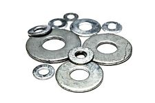 "(5lbs) 3/8"" USS Flat Washers - Hot Dip Galvanized (322pcs)"