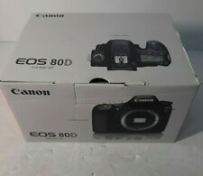 Canon EOS 80D (W) 24.2MP Digital SLR Camera - Black