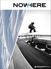 NOWHERE By Absinthe Films Snowboarding DVD Movie Extreme Sports