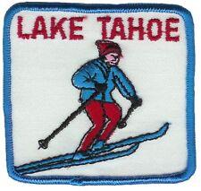 Vintage Lake Tahoe Snow Ski Patch - Sew on