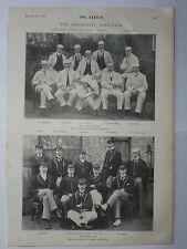University Boat Race - Oxford / Cambridge Photographs 1897