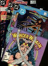 Wonder Woman 9,10,11,12 * 4 Book Lot * DC Comics! Justice! Super-Hero Action!
