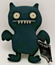 """Ugly Doll Little Ugly Ice-Bat - Black, 8"""", New with Rough Tag"""