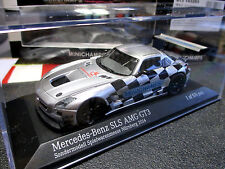1/43 Mercedes-Benz SLS AMG Messe-Modell Nürnberg 2014 MINICHAMPS 413 143293 MINT