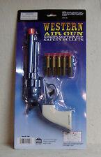 "NEW ""Western Air Gun"" Shoots Suction Cup Safety Bullets (Play Gun) | Orange Plug"