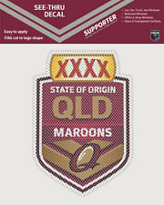 QLD Maroons State of Origin iTag See-Thru Decal Sticker