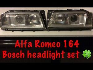 Alfa Romeo 164 Bosch headlight set 🍀