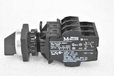 EATON MOELLER VDE-0660 ELECTRICAL CONTACTOR 2 POSITION SWITCH ASSEMBLY
