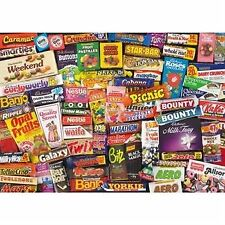 Gibsons 1980's Sweet Memories Jigsaw Puzzle (1000 Pieces)