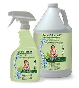 Davis Pure Planet Eco Friendly Natural Flea and Tick Spray-On Shampoo 1 Gal.
