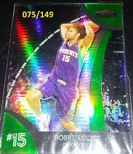 Robin Lopez 2007-08 Topps Finest Green Refractor Pre Rookie Card (#'d 075/149)