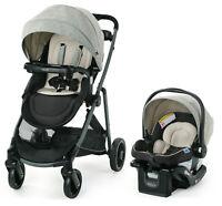 Graco Modes Element LX Travel System Stroller w SnugLock 35 LX Car Seat Lynwood