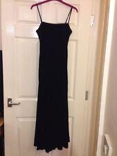 Patternless Velvet Formal Regular Size Dresses for Women