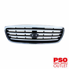 NEW Grille suits Kia Carnival Wagon fits - Chrome, built from 8/01-6/03