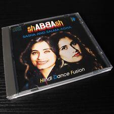 shABBAsh - Sasha and Salma Agha Hindi Dance Fusion 1993 UK CD Multitone #L01