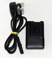 Genuine Casio BC-110L Charger w/ 3-Pin UK Cable for NP-110 Battery