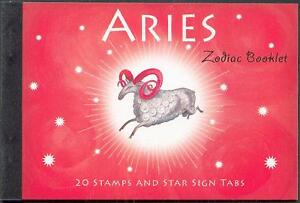 Australien  Prestige MH  Zodiac - Aries   ** (mnh)