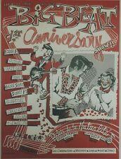 """""""BIG BEAT / 1st ANNIVERSARY SHOW 1981"""" Affiche originale entoilée 43x56cm"""