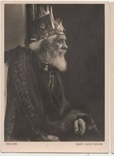 Herodes Mayr Manns 1934 Passionsspiele Oberammergau Germany RP Postcard 071a