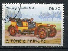 TIMBRE  VOITURE MERCEDES SIMPLEX  1902