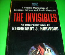THE INVISIBLES BY BERNHARDT J. HURWOOD 1971 FAWCETT PB